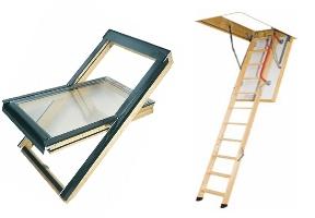 Окна и лестницы